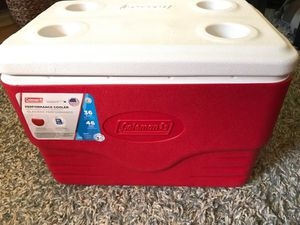 Coleman cooler 36 quart, keeps ice for 3-Days for Sale in Ithaca, NY