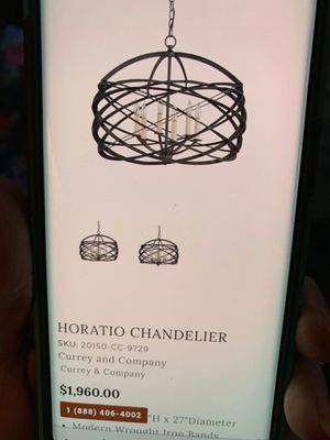 Horatio Chandelier for Sale in Port St. Lucie, FL