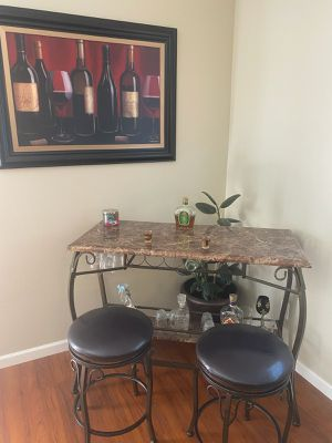 Bar and 2 stools $200 for Sale in Graham, WA
