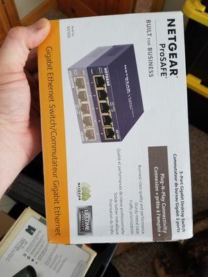 Netgear switch for Sale in Lake Nebagamon, WI