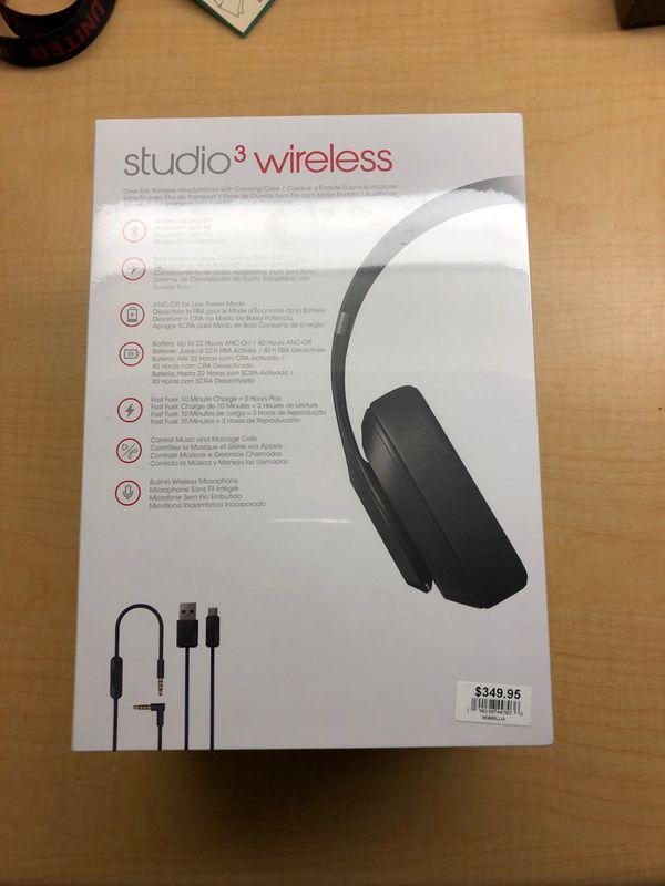Beatsstudio3 wireless headphones