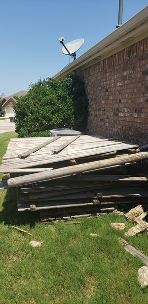 free old fence for Sale in Oak Point, TX