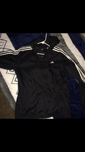 Black Adidas Windbreaker‼️ for Sale in Santa Clarita, CA