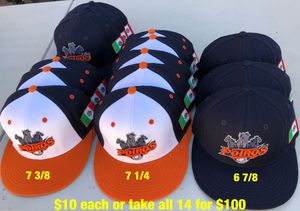 Potros de Tijuana baseball hat fitted new condition equipment gloves bats for Sale in Los Angeles, CA