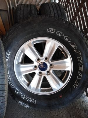 Ford Rims and tire for Sale in Phoenix, AZ