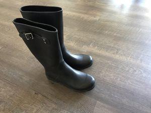 RAIN IS COMING!Women's size 8B black rain boots by Aldo for Sale in Escondido, CA