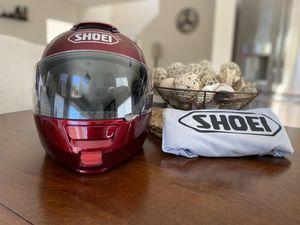 Shoei Neotec Wine Red Modular Motorcycle Helmet Size M for Sale in Las Vegas, NV