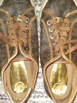 Used Michael Kors Leather Tennis for Sale in Oklahoma City,  OK