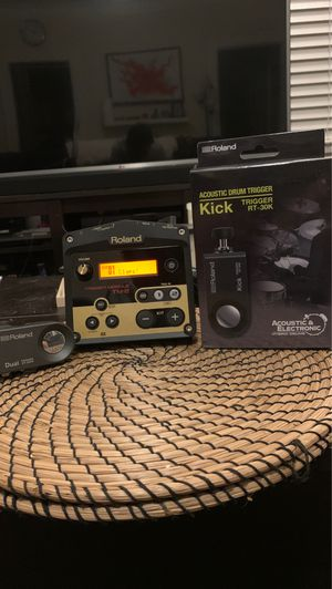 Roland drums tiggers and TM2 for Sale in Long Beach, CA