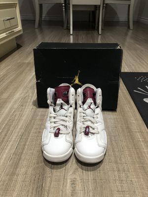 "Air Jordan 6 Retro ""Maroon"" for Sale in Burbank, CA"