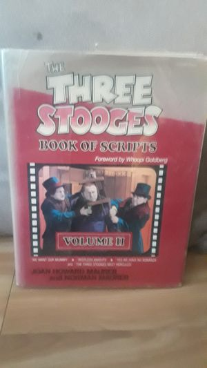 The Three Stooges Fiction Book for Sale in Revere, MA