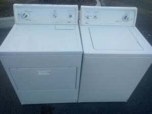 KENMORE WASHER AND DRYER SET for Sale in Raleigh, NC