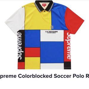 Supreme Colorblocked Soccer Polo for Sale in Philadelphia, PA