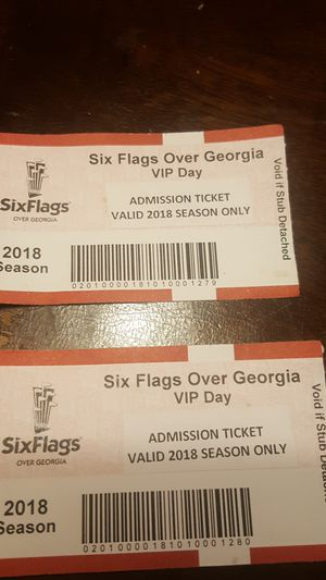 Six Flag Over Georgia For Sale In Lithia Springs Ga