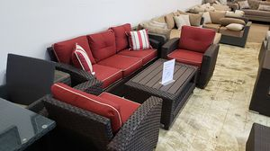 Brand New Sofa and Two Club Chairs and coffee table tax included and free delivery for Sale in Hayward, CA