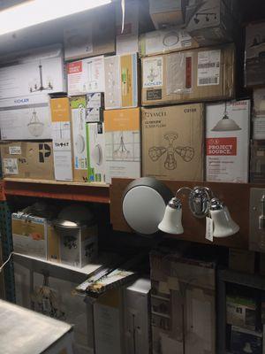 Indoor Lighting @ A's Outlet// Chandeliers/ Vanity Lights/ Ceiling Fixtures/ Floor Lamps/ Ect// for Sale in Fresno, CA
