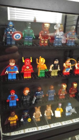 Lego DC Justice League, Marvel Avengers and Batman Movie Minifigures for Sale in Fremont, CA