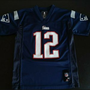 NFL Tom Brady Jersey Football Patriots Youth Medium Adult XSmall for Sale in Manhattan Beach, CA