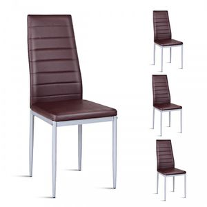 Leather Elegant Design Dining Side Chairs for Sale in Cutler, CA