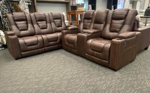 🔅Delivery available.. Financing options 🔅special. Reclining Living Room Set Sofa and loveseat 🔅 for Sale in Houston, TX