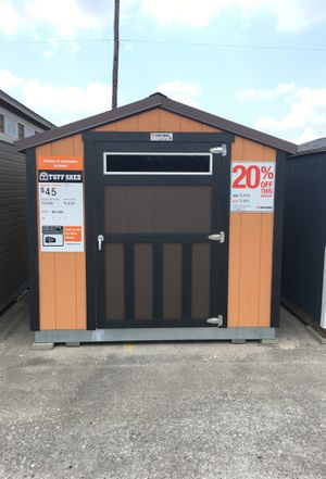 577 Tuff Shed SR600 8x12 display was $2,856 now $2,285 for Sale in Houston, TX