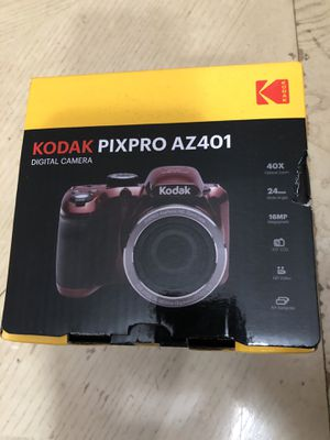 KODAK PIXPRO AZ401 Bridge Digital Camera Red Brand New 16MP 40X Optical Zoom HD720p video for Sale in Calumet City, IL