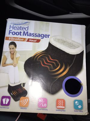 Health touch Heated Foot Massager for Sale in Fairfax, VA