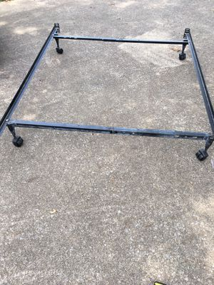 Full size bed frame adjustable to twin for Sale in Murfreesboro, TN