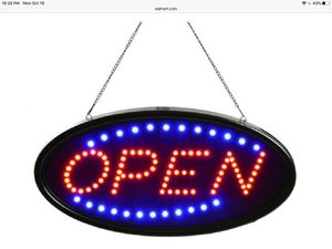 LED open sign for Sale in Menifee, CA
