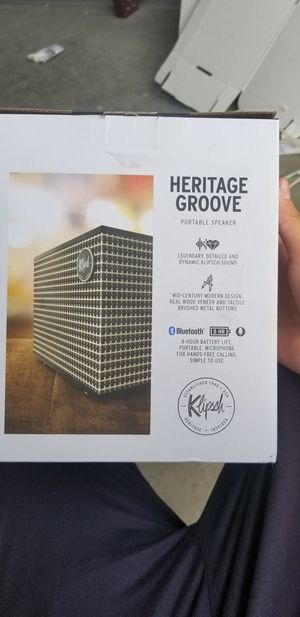 Klipsch Heritage Groove Portable Bluetooth Speaker for Sale in Rowlett, TX