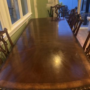 6 chairs Table And 2 Piece China Cabinet for Sale in Massapequa, NY