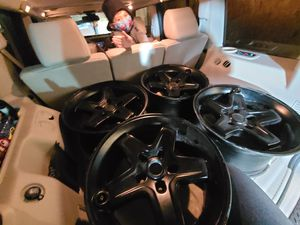 "17"" AEV pintlers 5x5 jeep wheels for Sale in Chicago, IL"