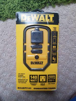 Dewalt power inverter new for Sale in Alexandria, VA