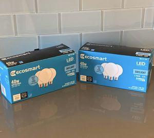 EcoSmart 40-Watt Daylight LED Bulbs for Sale in Alexandria, VA