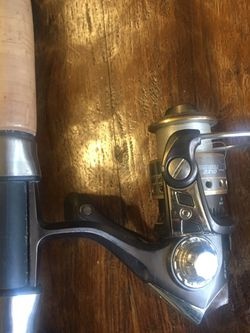 Shakespeare Lite Pro Ugly Stick Abu Garcia SX10 Reel . Fishing Pole for Sale in Las Vegas,  NV