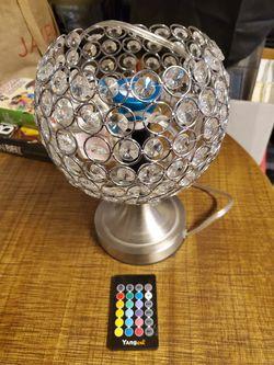 Lamp small, lights colors control for Sale in Dallas,  TX