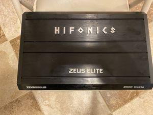 HIFONICS ZEUS ELITE 2500 W Amp for Sale in Waldorf, MD