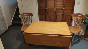 Kitchen/Dining Table with 2 side drop down for Sale in Buffalo, NY