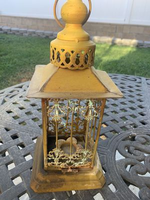 Candle Holder patio decor for Sale in Rancho Cucamonga, CA