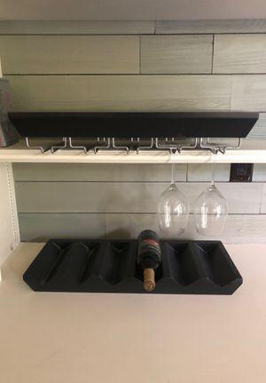 Potter Barn Wine racks - wall mounted for Sale in Katy, TX