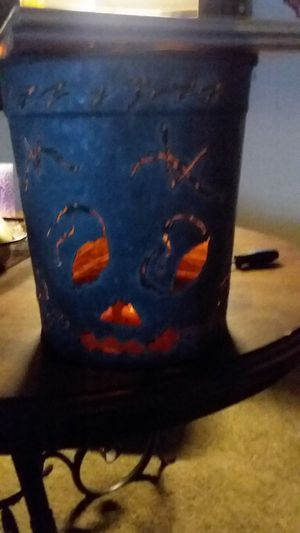 Sap bucket jack o lantern for Sale in Chesapeake, VA