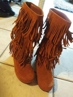Fringe boots for Sale in Palos Hills, IL