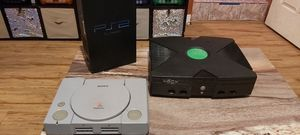 PS2 Fat PSOne Xbox Classic consoles only for Sale in San Diego, CA