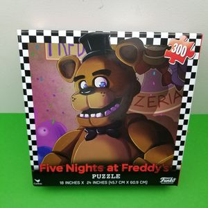 """Five Nights At Freddy's 300 Piece Puzzle Funko 2017 Cardinal Sealed 18""""x24"""" for Sale in Hephzibah, GA"""