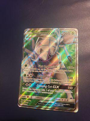 Golisopod GX pokemon card for Sale in Modesto, CA