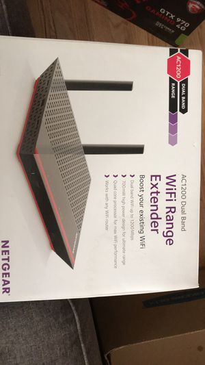 NETGEAR EX6200 Dual Band Wi-Fi Range Extender for Sale in Old Bridge Township, NJ
