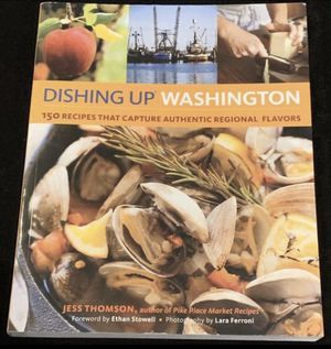 """Dishing Up Washington"" by Jess Thomson for Sale in Issaquah, WA"