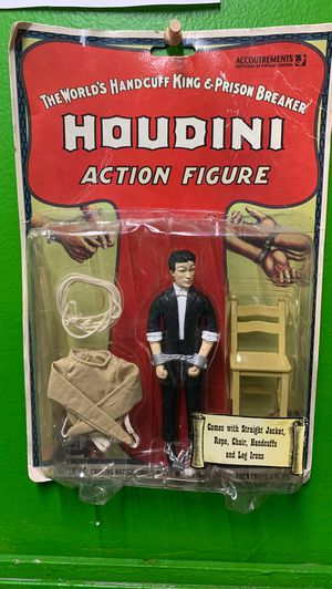Houdini vintage action figure for Sale in Los Angeles, CA