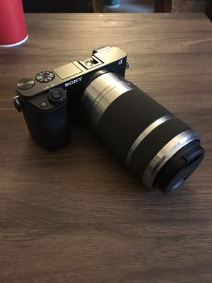 Sony Alpha a6000 w/ 300mm Lens for Sale in Delaware, OH