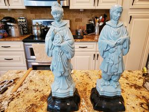Chinese statues (set of 2) for Sale in Waxhaw, NC